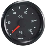 VDO V150030 - VDO BLACK COCKPIT - OIL PRESSURE GUAGE - MECHANICAL - 0-100 PSI
