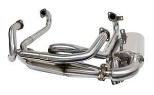 VW TYPE 1 BUG//GHIA 1300-1600 PREMIUM EXTRACTOR HEADER ONLY BLACK 3100